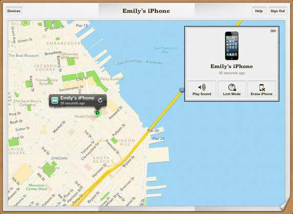 Locate your iPhone