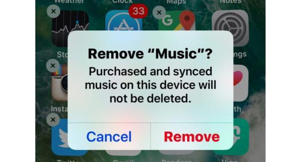 Reinstall the Music Application